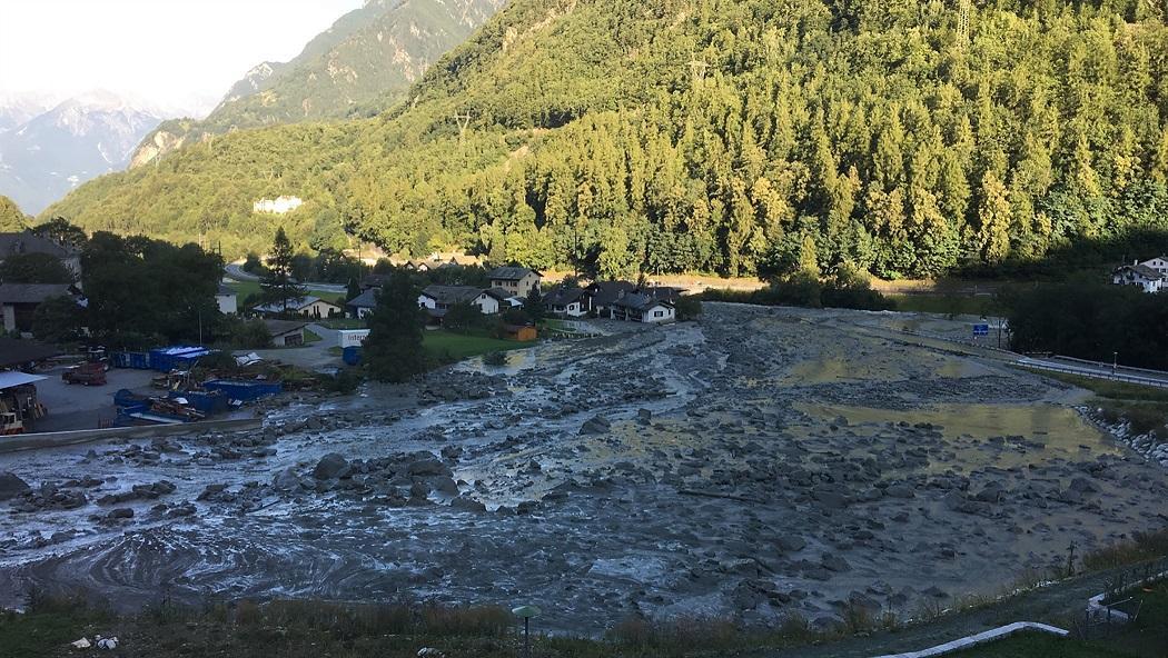 Un'altra frana in Val Bregaglia