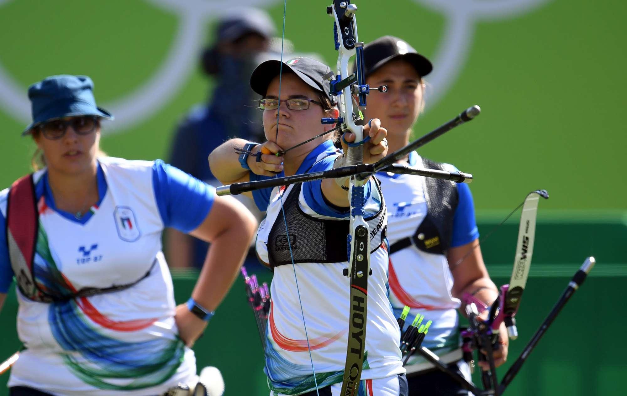Tiro con l arco, l impresa sfiorata delle arciere azzurre a Rio