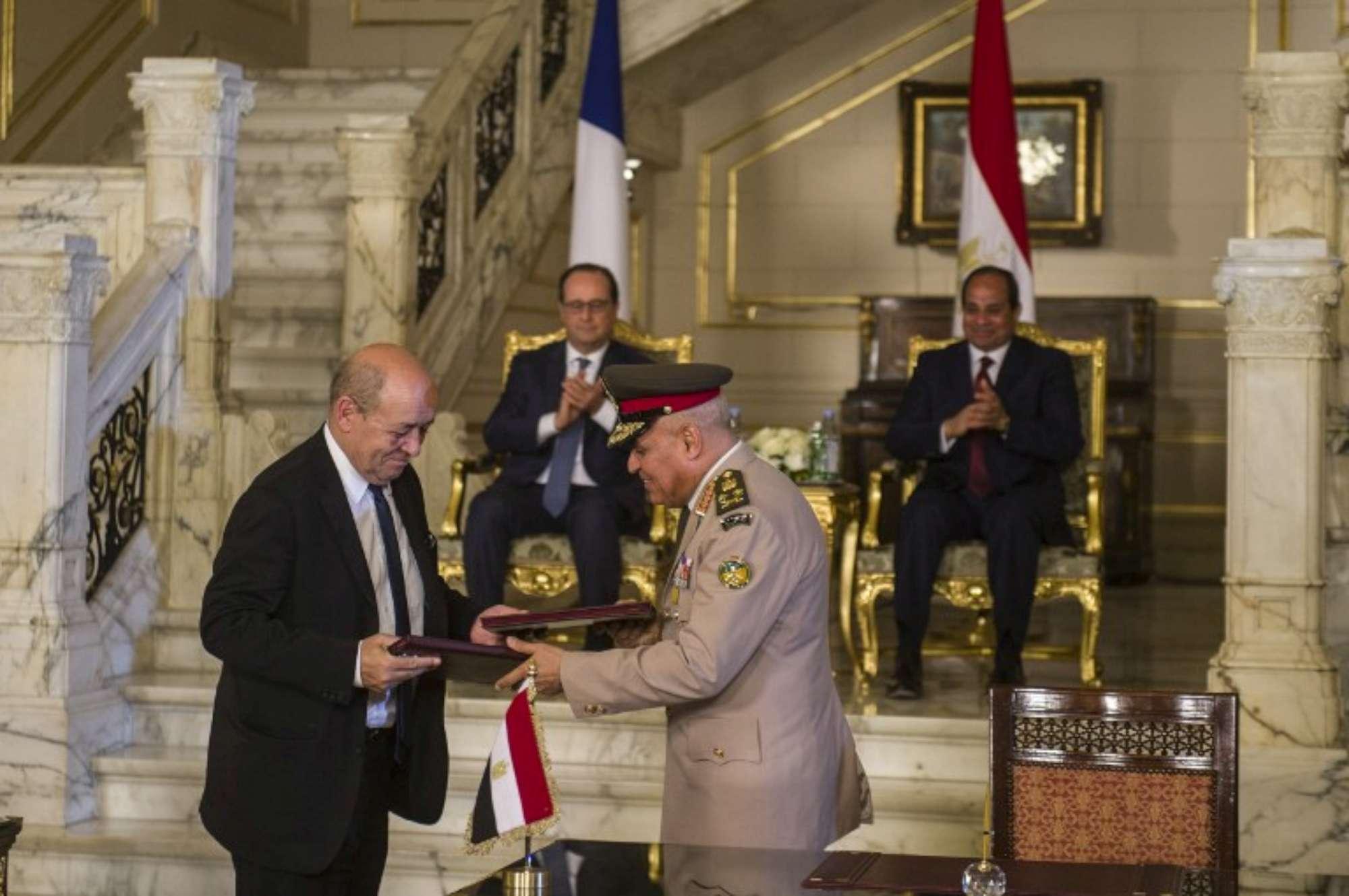 Egitto, Hollande in visita da Al Sisi