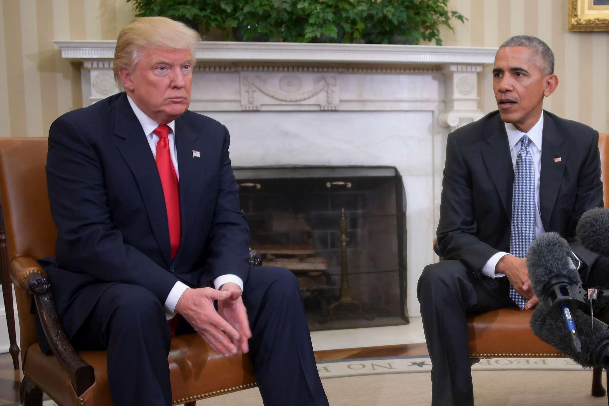 L incontro alla Casa Bianca tra Obama e Trump