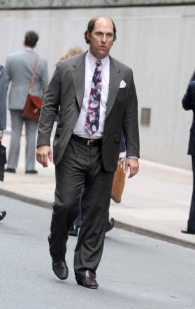 """Matthew McConaughey calvo e imbruttito per """"Gold"""""""