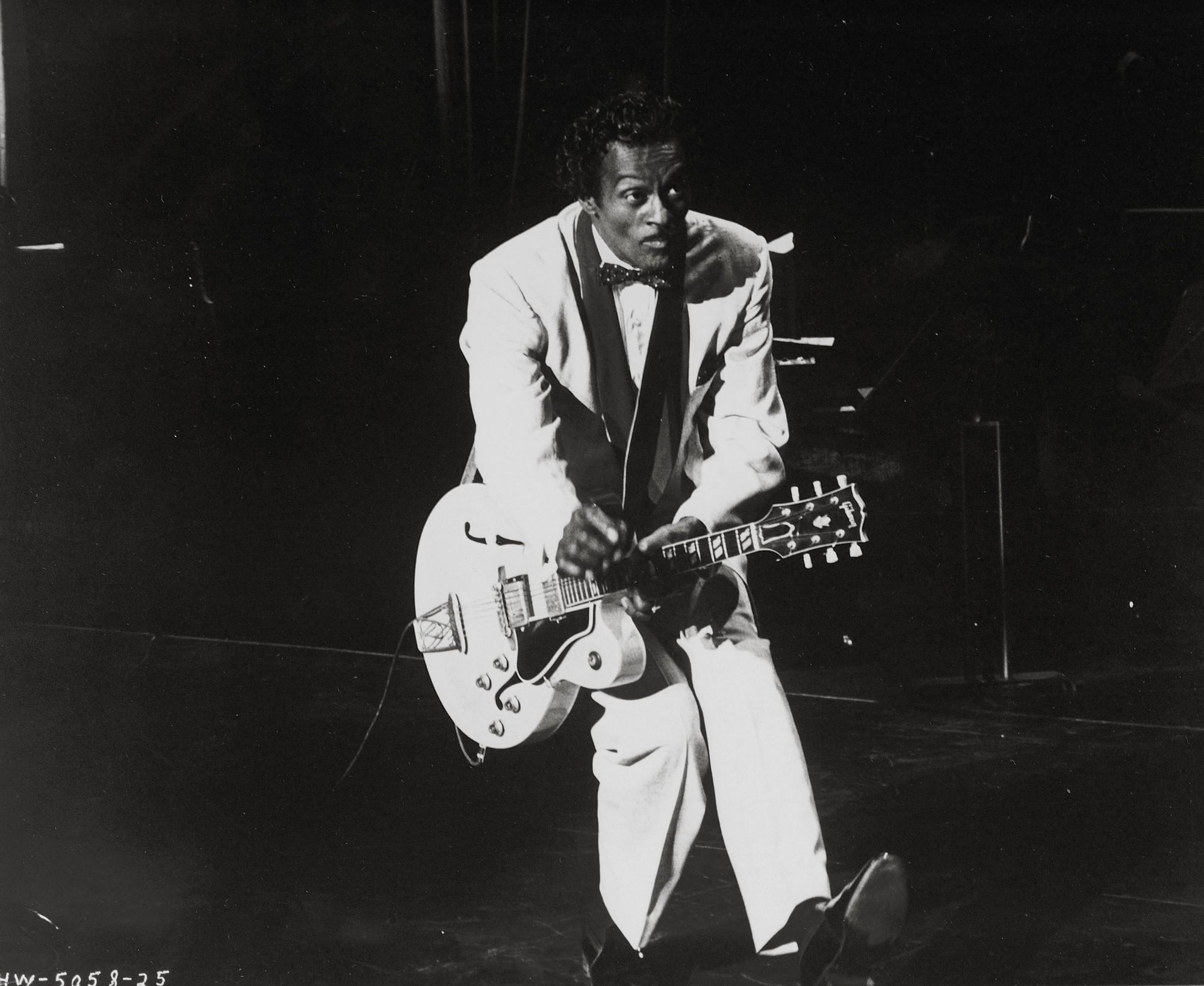 Chuck Berry, il chitarrista leggendario