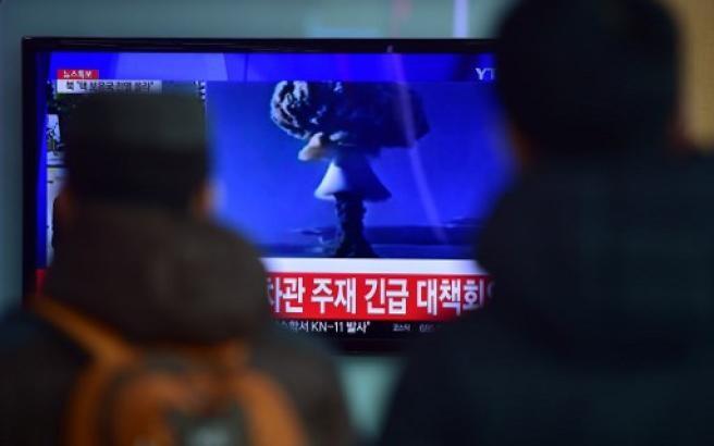 Un test nucleare nella Corea del Nord Esplode una bomba atomica