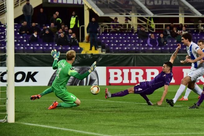 Europa League: Fiorentina-Lech 1-2, Viola ultima nel girone