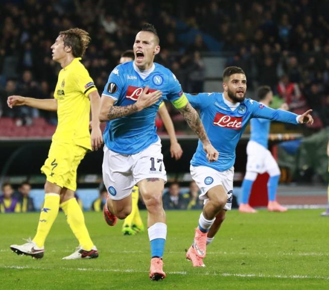 EL, 1-1 amaro per il Napoli: Villarreal agli ottavi
