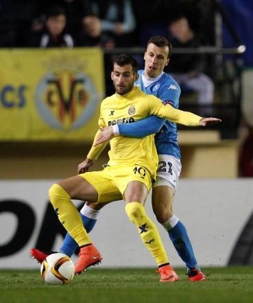 Europa League, Napoli sconfitto nel finale: 1-0 Villarreal