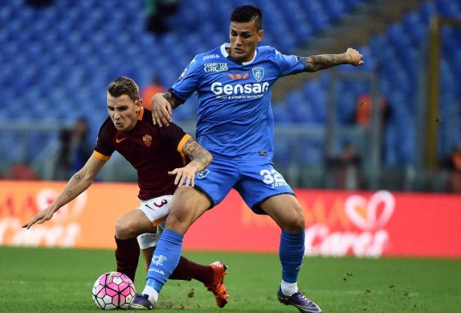 Serie A: Roma-Empoli 3-1, terza vittoria di fila per Garcia