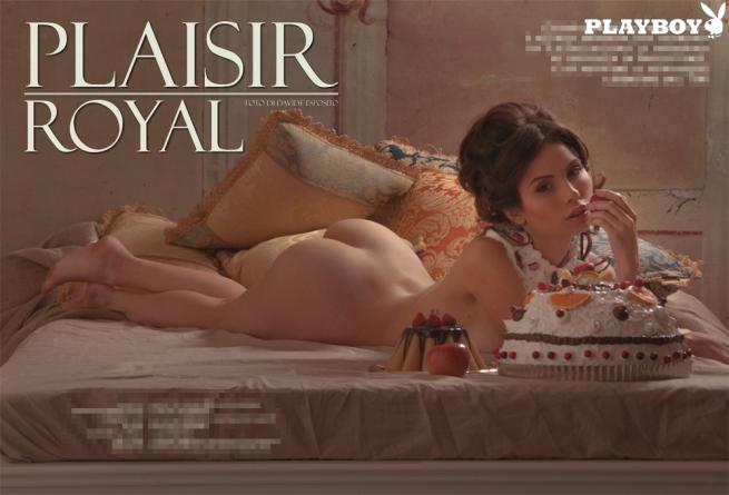 """Chiara Arrighi, su """"Playboy"""" un nudo integrale da far impallidire i libertini del '700"""