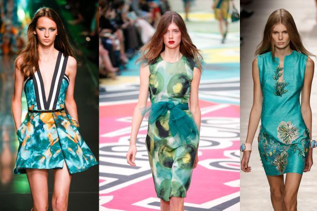 Colori per la primavera-estate: la moda si tinge di verde menta