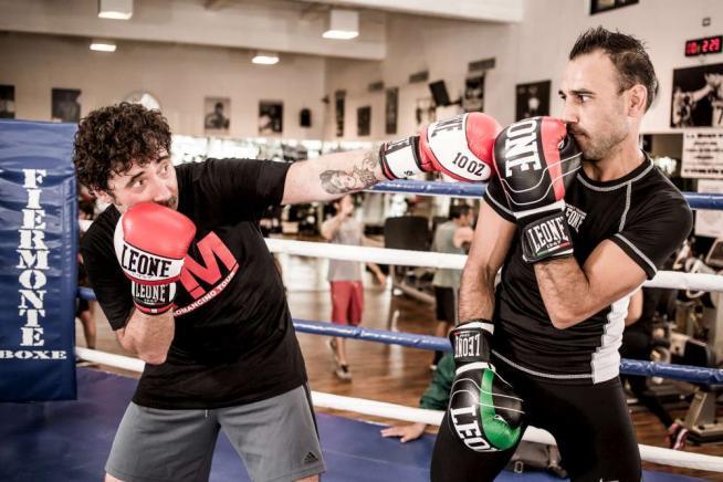 """Federico Zampaglione: """"Combatto sul ring, ma a casa è Claudia che picchia duro"""""""