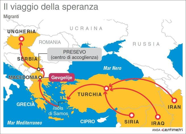 """Migranti, Alfano: """"Schengen non si tocca"""" Balcani, """"solo controlli anti-terrorismo"""""""