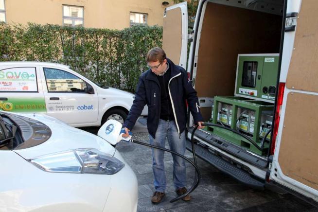 """Mobilità sostenibile, a Milano e Monza arriva la """"sos ricarica"""" per auto elettriche"""
