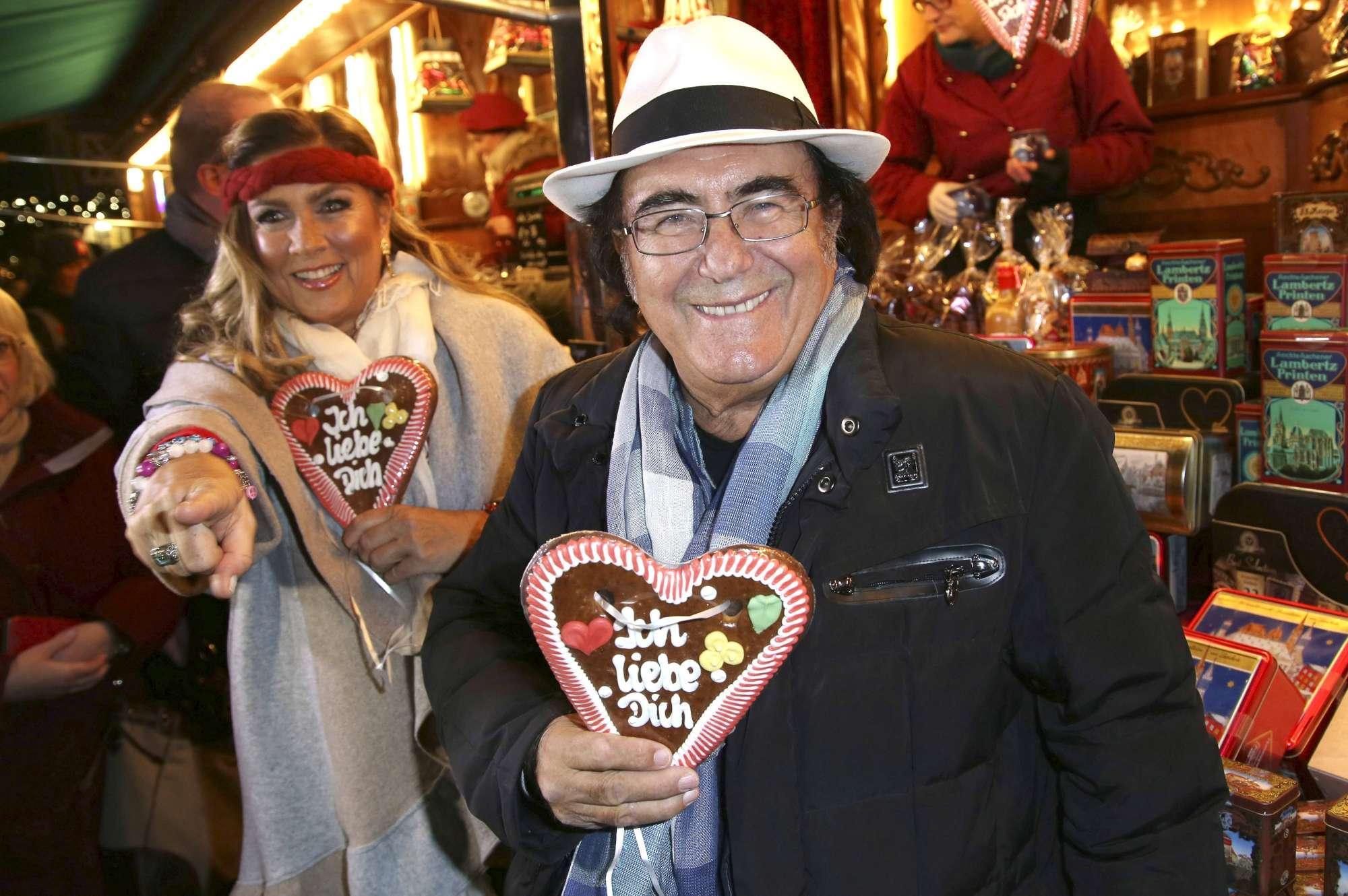 Al Bano e Romina, dedica romantica ai mercatini di Natale