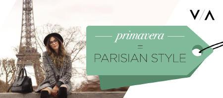 In primavera è di scena il Parisian Style