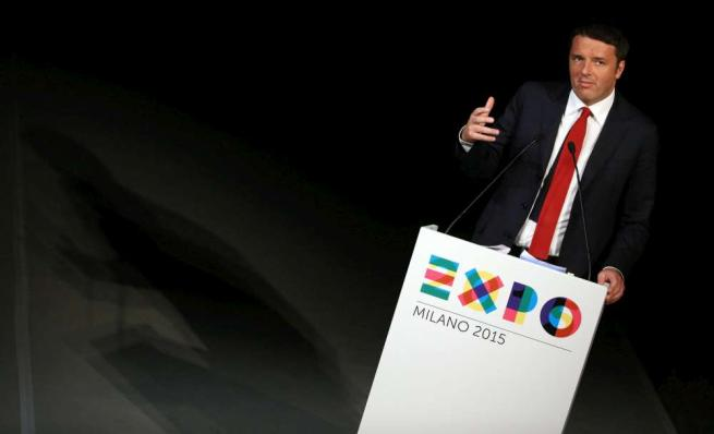 """Renzi: """"Centro di ricerca per il dopo Expo"""" Pronti 150 milioni da investire ogni anno"""