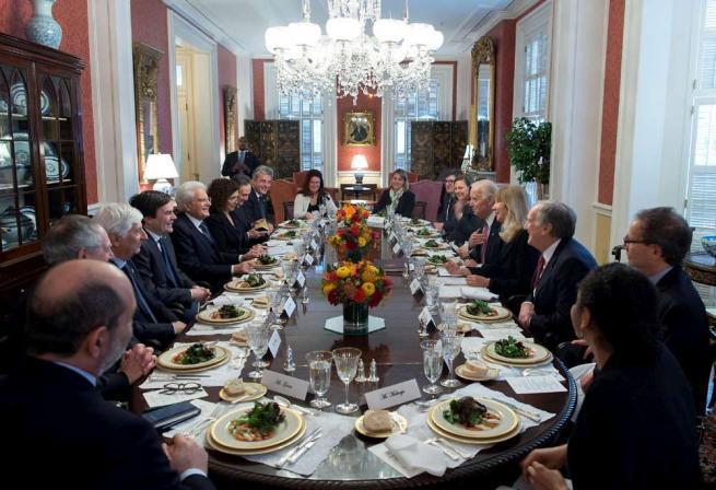 """Mattarella a Washington: """"Convergenza con gli Usa sui grandi temi internazionali"""""""