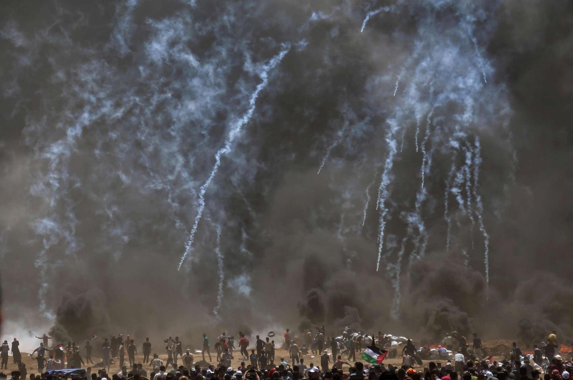 Usa inaugura ambasciata a Gerusalemme, scontri al confine con Gaza