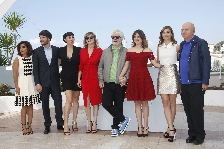 Cannes 2016, Pedro Almodovar e le sue donne in