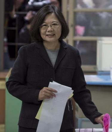 Taiwan, vince la democratica Tsai Ing-wen: è la prima donna a capo del governo