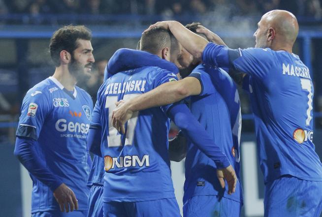 Serie A: Empoli-Milan 2-2, il Diavolo rallenta la marcia verso l'Europa