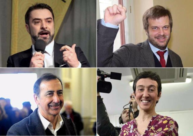 Primarie a Milano: i quattro candidati hanno votato. Ai seggi quasi 8mila persone