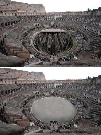 """Il ministro Franceschini: """"Ricostruiremo l'arena del Colosseo"""""""