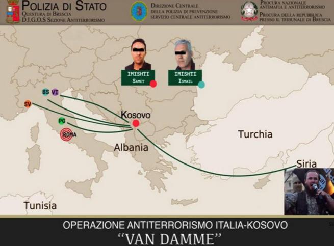 """Terrorismo, 4 arresti tra Italia e Kosovo In chat: """"Questo Papa sarà l'ultimo"""""""