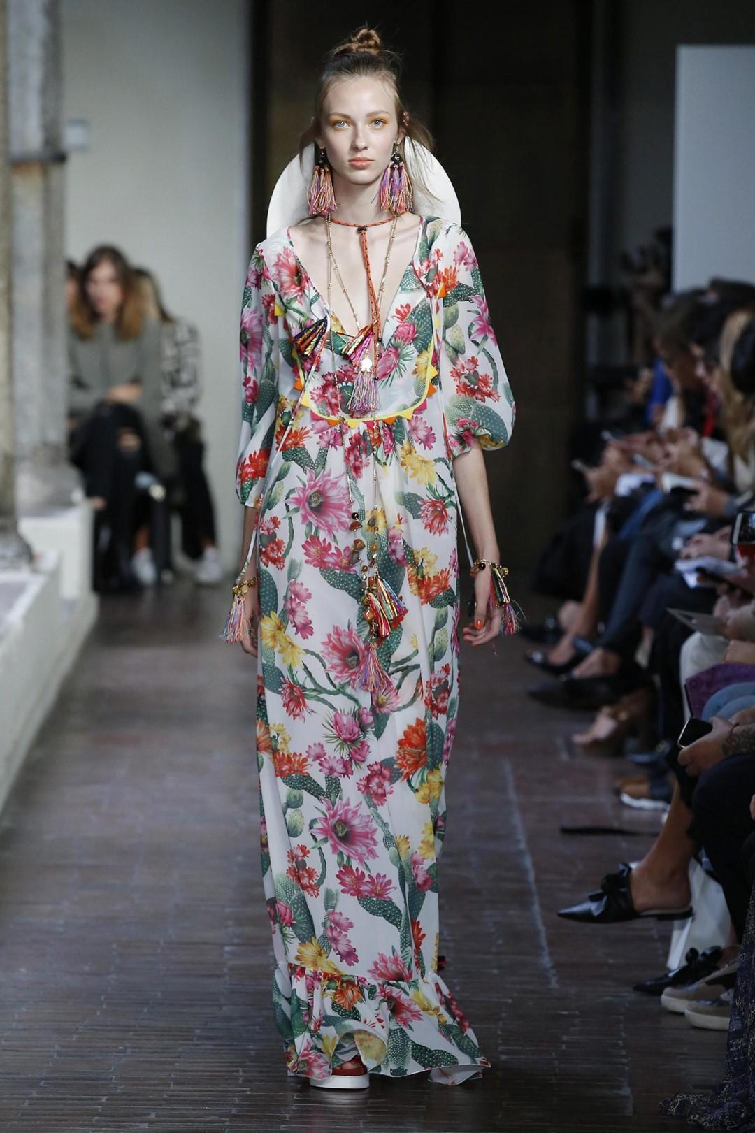 Moda primavera-estate 2017 lo stile in fiore