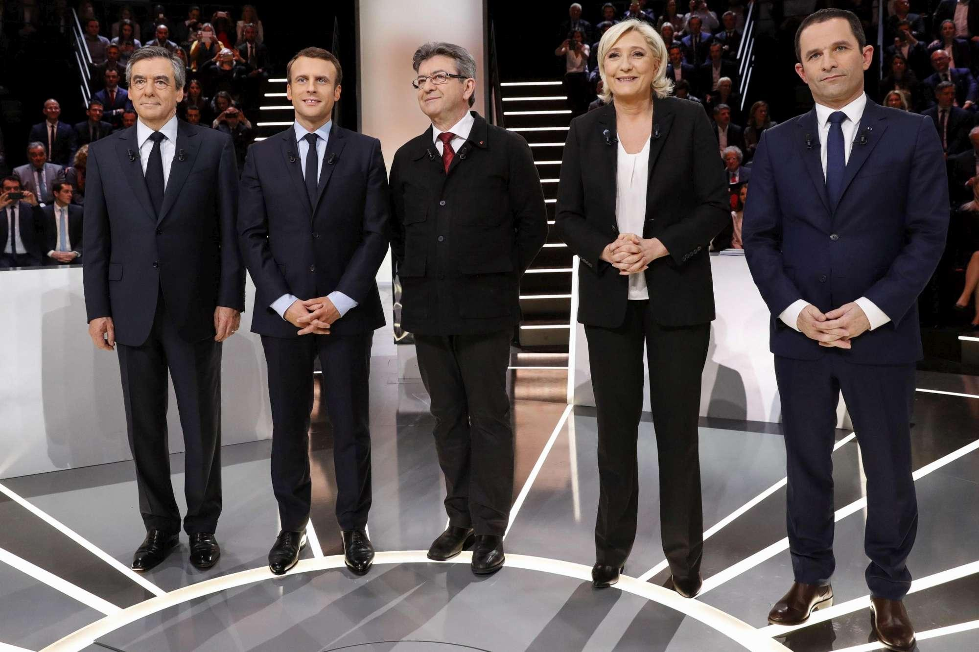 Francia, primo dibattito in tv per i candidati all Eliseo