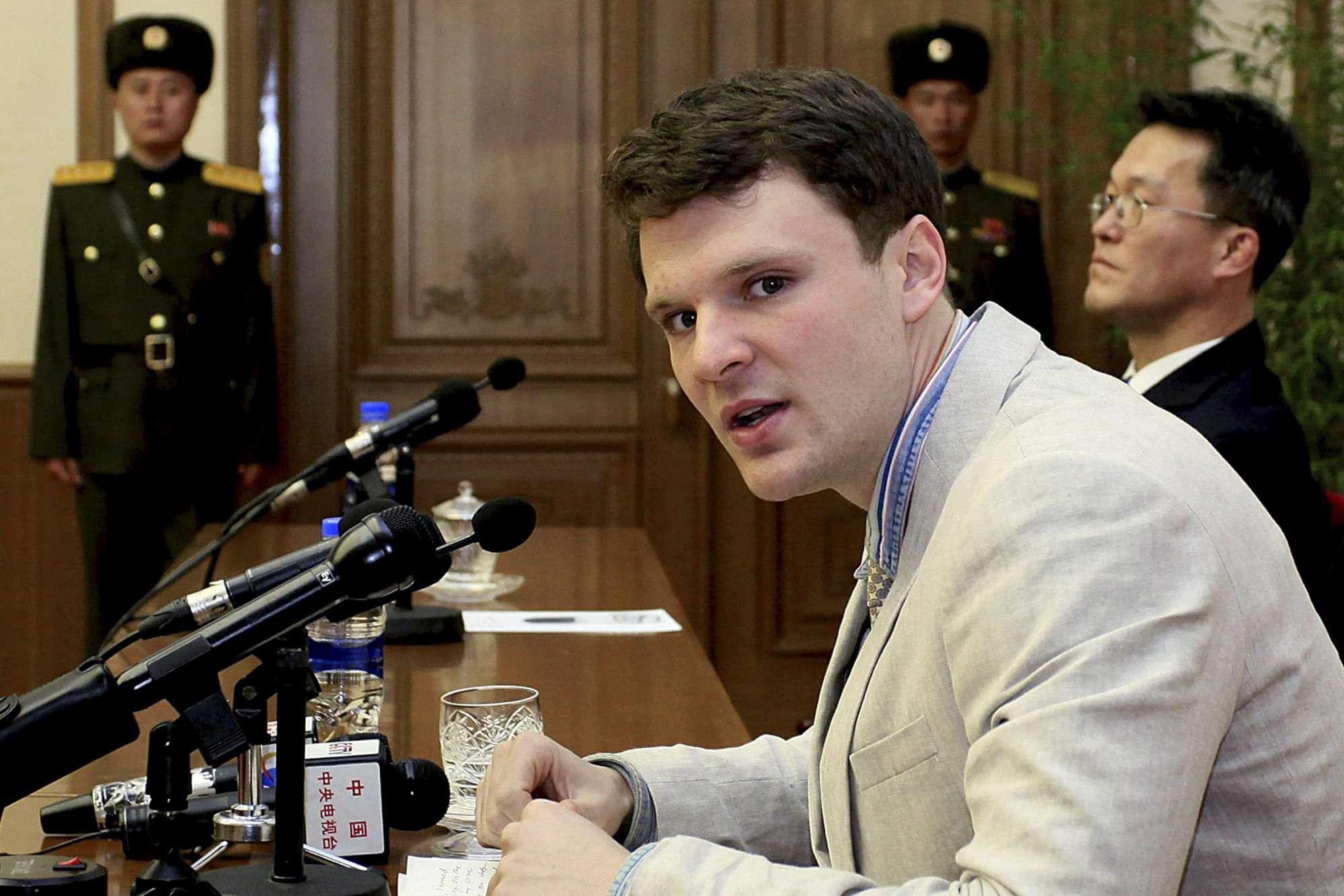 Corea del Nord, libero lo studente USA Otto Warmbier