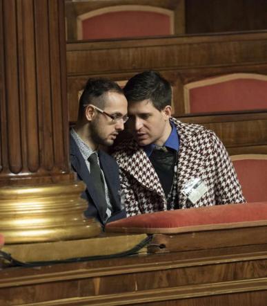 Unioni civili, i lavori riprendono martedì Tensioni, Giovanardi:  Baci gay in Aula