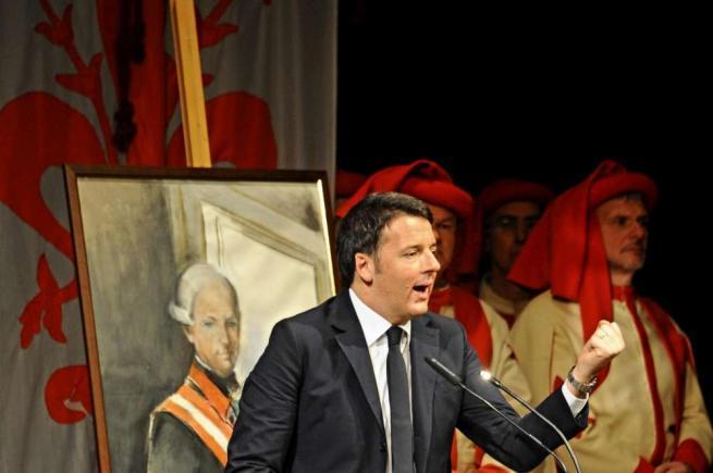 """Renzi: """"Vogliono distruggere il nostro modo di vivere, cyber-security contro il terrore"""""""