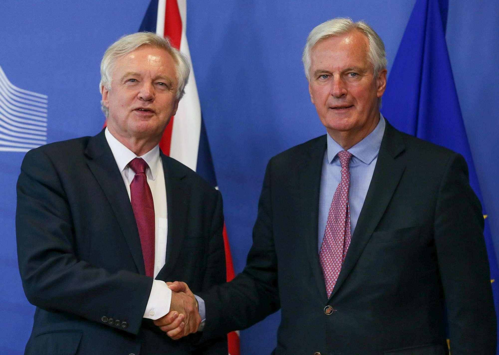 Bruxelles, l avvio dei negoziati per la Brexit