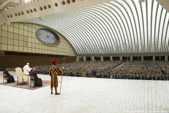 Papa agli imprenditori di Confindustria:  Rifiutate favoritismi e raccomandazioni
