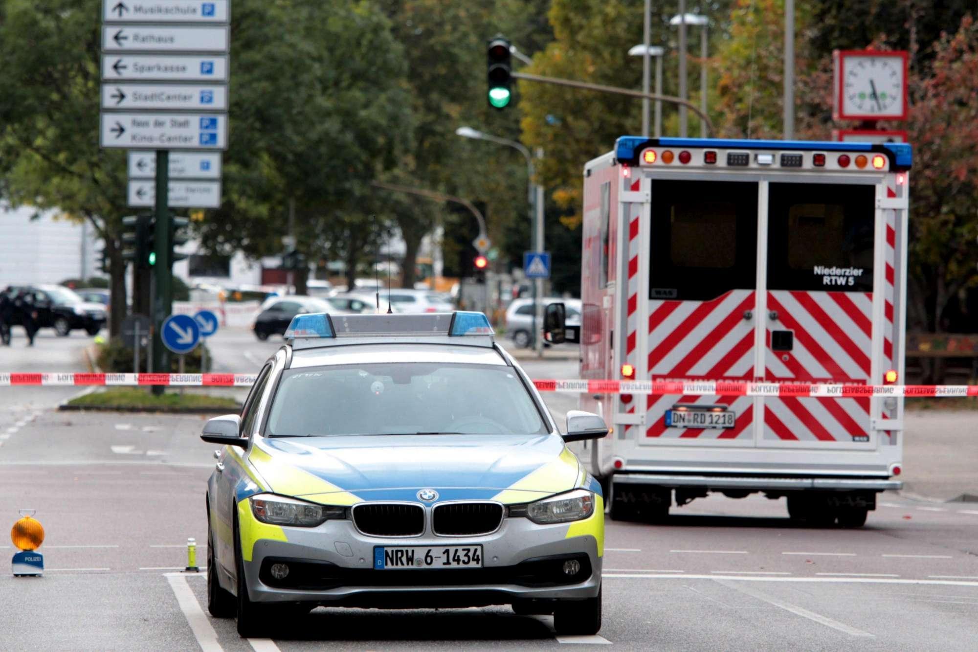 Paura in Germania sparatoria a Düren, un morto e un ferito