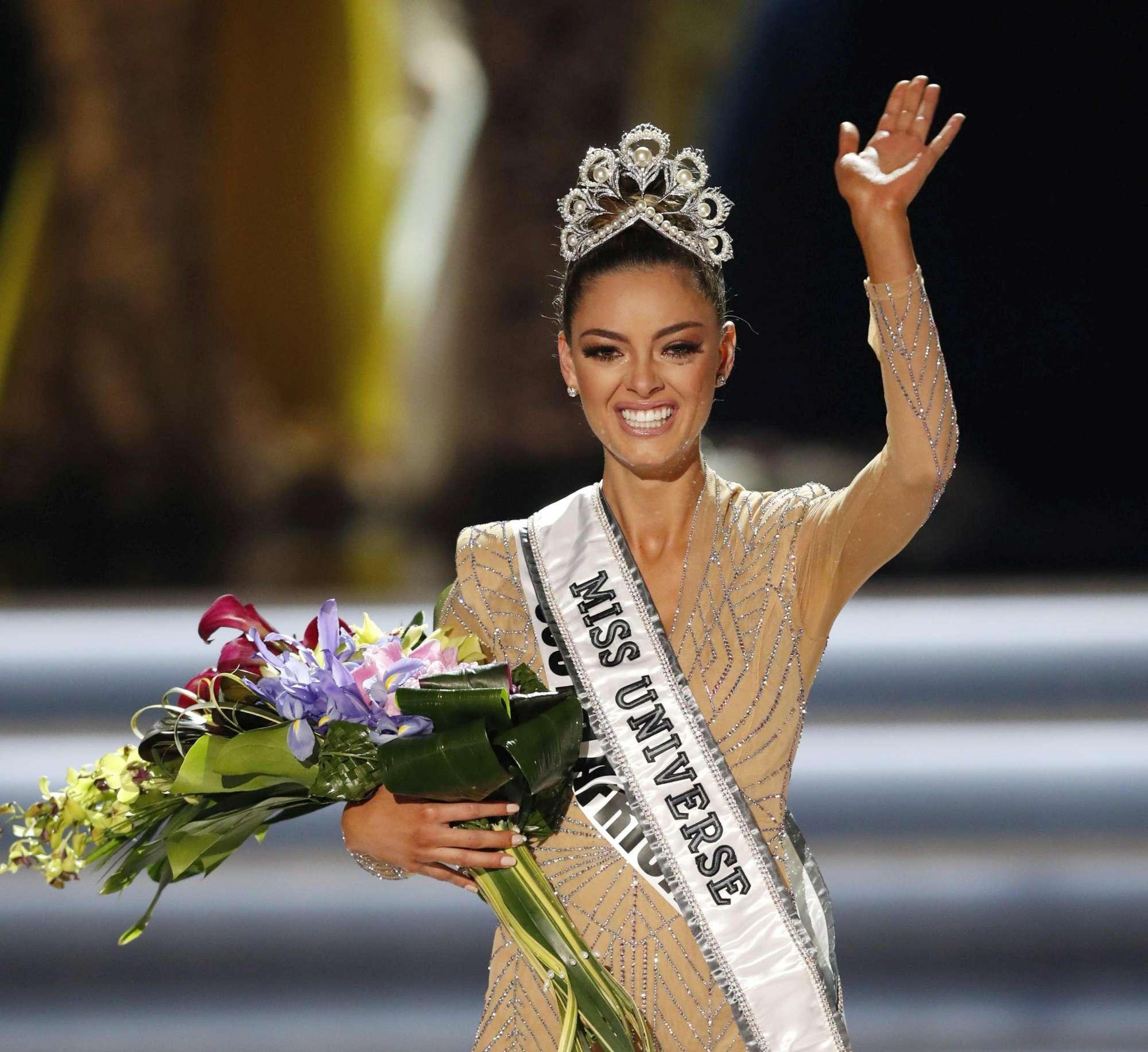 Miss Universo 2017 è Demi-Leigh Nel-Peters