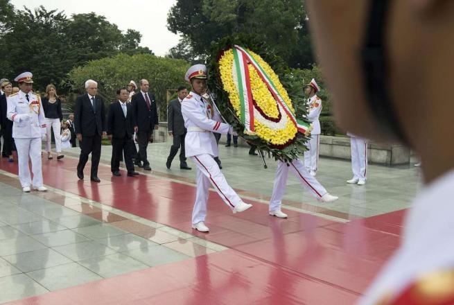 Vietnam, Mattarella: l'Italia riparta con slancio e fiducia