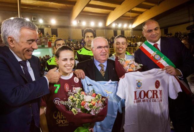 In campo lo Sporting Locri dopo le minacce alla società