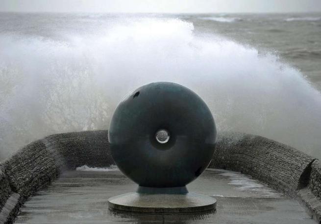 Tempesta Imogen sulla Gran Bretagna: raffiche di vento record e pioggia battente