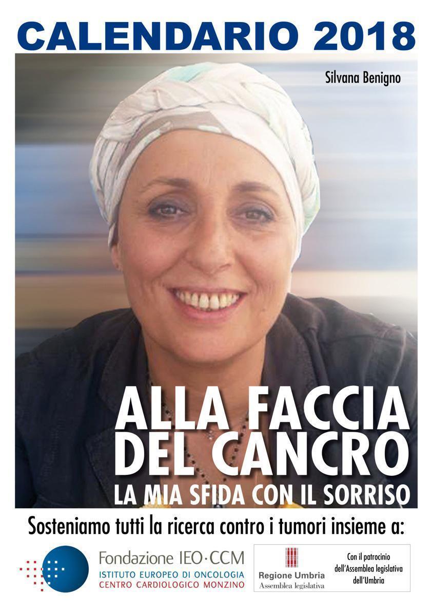 Alla faccia del cancro : il calendario di Silvana che combatte il tumore con il sorriso