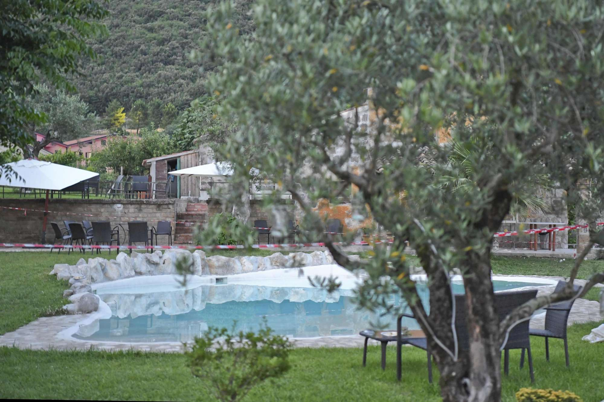 Benevento, la piscina dove è stata trovata morta la piccola Maria