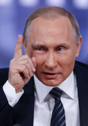 """Jet russo, Putin: """"Turchi servi degli Usa Provino ora a volare sopra la Siria"""""""