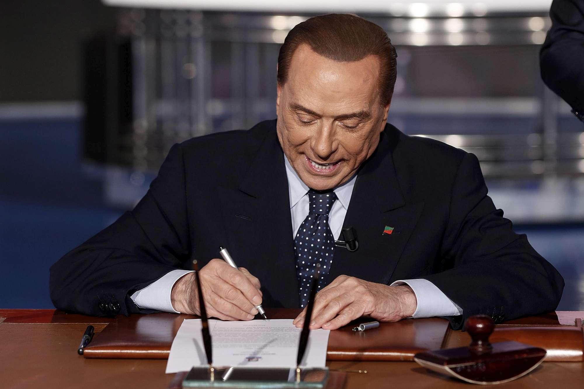 Risultati immagini per contratto con gli italiani