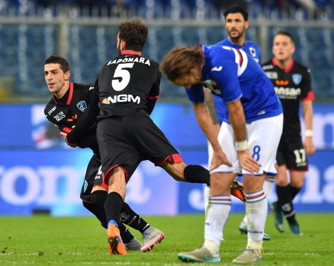 Serie A: Sampdoria-Empoli 1-1, Eder risponde a Pucciarelli