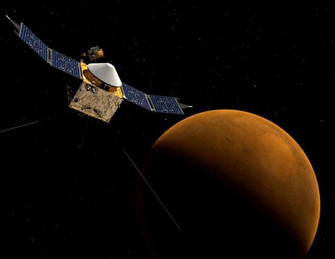 Straordinaria scoperta della Nasa: su Marte scorre acqua salata