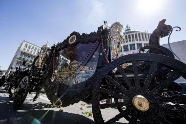 Funerali Casamonica, per il boss usata la stessa carrozza delle esequie di Totò