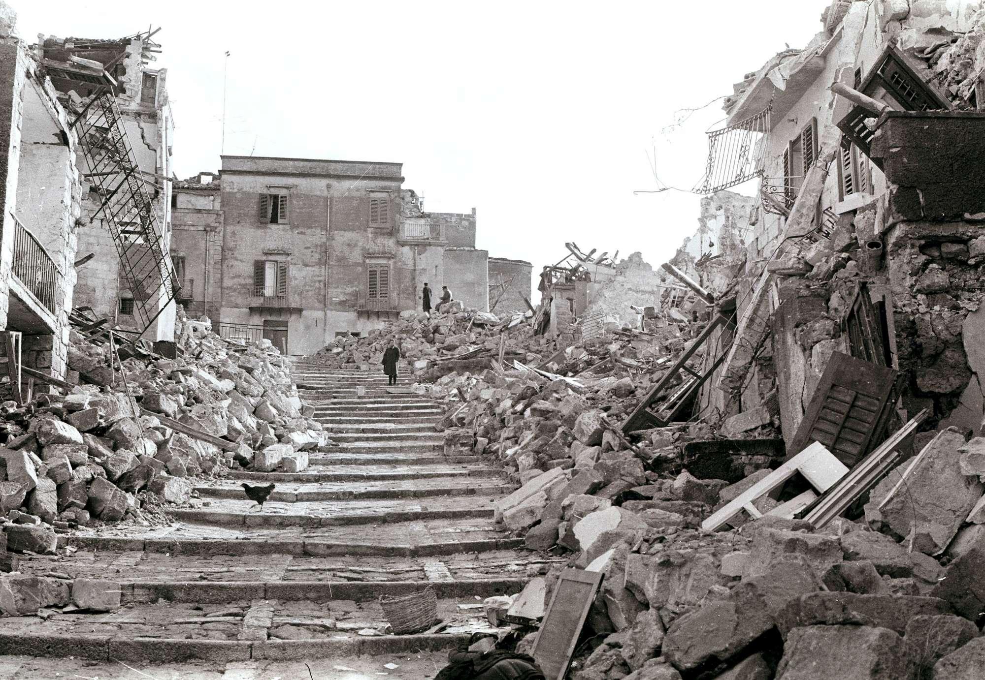 Terremoto del Belice, 50 fa il sisma che devastò la valle siciliana