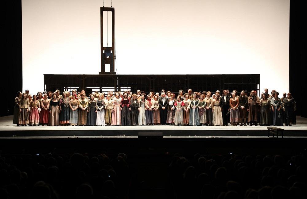 Scala, una prima  rivoluzionaria  con l  Andrea Chenier  di Giordano