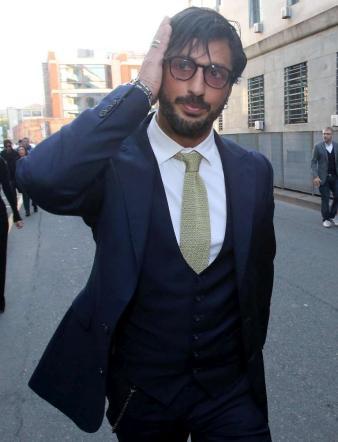Milano, Fabrizio Corona in tribunale per l'affidamento ai servizi sociali