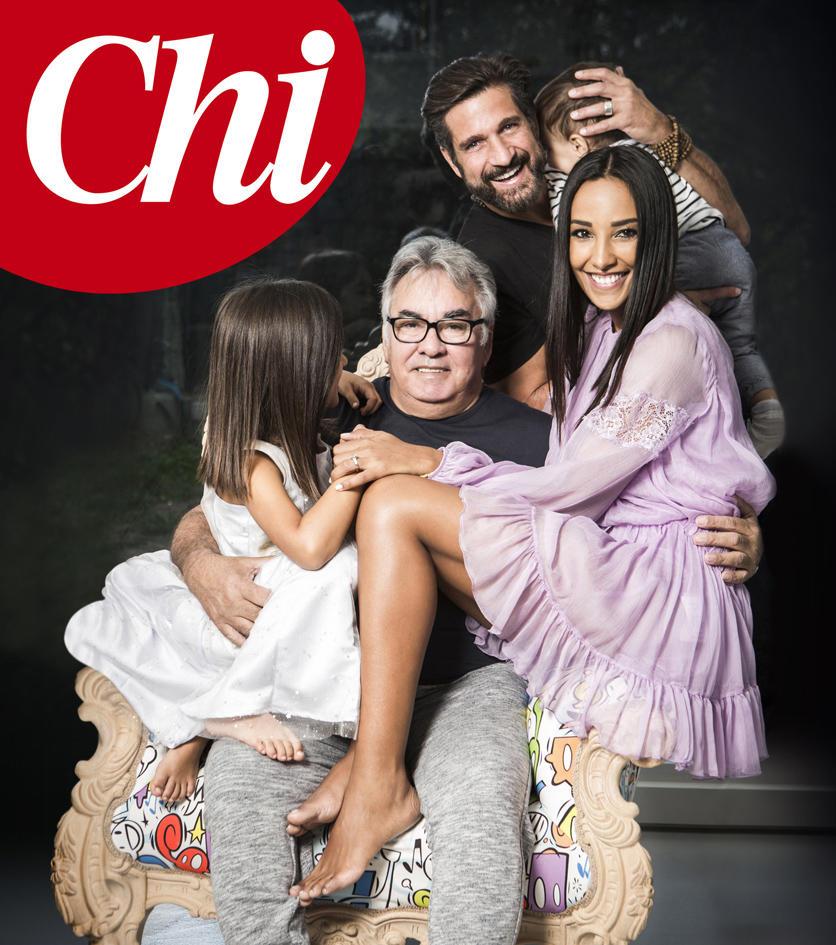 Edoardo Stoppa e Juliana Moreira su  Chi  annunciano il matrimonio